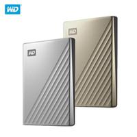 """الأصلي WD 2TB 4TB 1TB محرك الأقراص الصلبة الخارجية HDD 2.5 """"القرص الصلب نوع C-الترا التشفير WD HDD"""