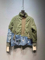 2020 Зима Новый Модный Дизайнер Хлопок Заполнен Мужская Куртка Пальто ~ Размер США Содержите теплую куртку ~ Топы Куртки для мужчин