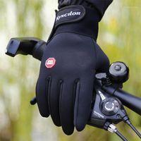 خمسة أصابع قفازات 1 زوج أزياء الرجال أصابع عدم الانزلاق الدراجات دراجة رياضة اللياقة البدنية الرياضة تنفس التزلج ركوب 10.91