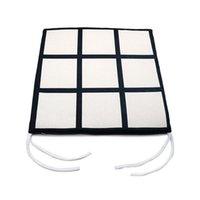 Jiugongge غطاء وسادة التسامي شبكات بطانيات فارغ حصيرة النقل الحراري لوحات الطباعة البطانيات التفاف سميكة الشبكة بطانية F110504