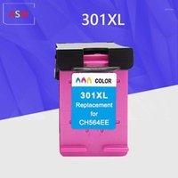 Cartuccia 301xl Compatibile per la cartuccia d'inchiostro 301 XL 301 per Envy 5530 Deskjet 2050 2540 2510 1000 1050 Printer1