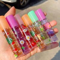 6 색 거울 물 립글로스 립 글레이즈 투명 유리 립 오일 방수 액체 립스틱 립글로스 입술 화장품 6pcs