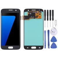 OLED Malzeme LCD Ekran ve Sayısallaştırıcı Tam Montaj Samsung Galaxy S7 için