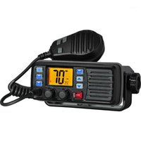 Con GPS recente RS-507M VHF Mobile Marine Radio Float Class D Canale Meteo con Alert 25W Walkie Talkie1