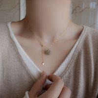 Silvología 925 Sterling Silver Hetian Jade Colgante Colgante Redondo Jade Lucky Button Collar de lujo para mujeres Joyería de cumpleaños LJ201009