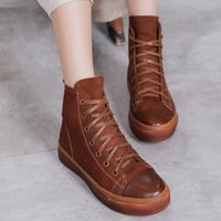 2021Winter Boots Women's Round Toe Canvas Shoes Leisure Harajuku Booties Thin