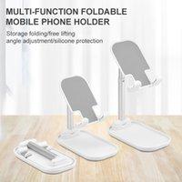 2020 Universal Cell Phone Portable Support Détenteurs de téléphone Tablet Stable pliable sur le bureau Angle réglable pour tous les téléphones Pads