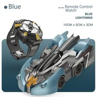 Escalada de infrarrojos pared de RC el coche del truco juguetes eléctricos de succión Suba cristal del coche de color 360 ° Rotación Dazzle ilumina regalos de cumpleaños para los niños