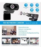 Caméscopes ordinateur ordinateur portable ordinateur portable 2mp2.0 webcam 1080p caméra HD avec microphone pour la caméra de jeu de maison intégrée 1