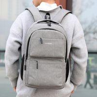 حقائب مدرسية كبيرة لمراهقات مراهقة قدرة على حقائب الظهر ماء حقيبة مدرسية للرجال لفتاة USB # G2