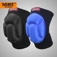 Локоть коленные колодки Aolikes Anti-Collision поддерживает неопреновый охранник Protect Gear Basketball Auckured Sconge Pad Brace