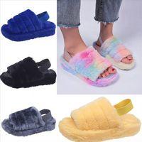 WWCRI Nakış Dway Mule Toile Tasarımcısı De Flip D'veya Dener Terlik Sandalet Çizgili Blooms Slayt Havuz Jouy Flop Bayan Yüksek Kalite