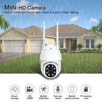 كاميرات التكبير للماء wifi عموم / الميل 8 أضواء 1080 وعاء hd ip ir كاميرا كاملة اللون للرؤية الليلية PTZ مراقبة في الهواء الطلق IP1