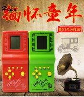 Joueurs portables Joueurs Classic Tetris électronique Console LCD Console pour enfants Puzzle de puzzle pour enfants Toys cadeau1