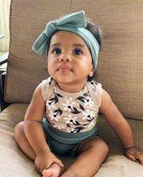IMCUTE Birthdays Regalo Dono Toddler Baby Girl Infant Bambini vestiti Top Flower Print Arcobaleno Body Shorts Shorts Abiti Abiti Set LJ201223