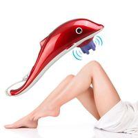 Infrarrojo 3 IN1 tejido de mano Dolphin Masaje de cuerpo Masaje Martillo de estrés Dolor Relador Mejore la circulación sanguínea Estimular el metabolismo