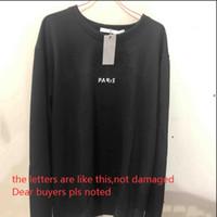 Мода джемперы мужские толстовки весенние толстовки для мужчин толстовка с поврежденными буквами с длинными рукавами мужские пуловеры с длинными рукавами.