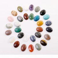 الجملة عالية الجودة الحجر الطبيعي البيضاوي البيضاوي كابوشون دمعة ستون الخرز للمجوهرات اكسسوارات صنع حلقة 22 ملليمتر x 30 ملليمتر شحن مجاني