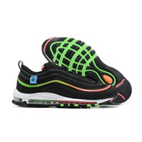 Mens 97 Running Shoes Gesù Triple nero pallottola Bianco donne 97s Undefeated Trainer riflettente Bred Gioco Reale Sneakers