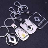 3D металлический автомобиль ключ цепи ключа кольцо для рено Megane 2 3 Duster Logan Clio Laguna 2 Captur автомобильные аксессуары стайлинг1