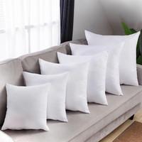 DHL Sublimation Funda de almohada Transferencia de calor Impresión Cubiertas de almohada Sublimación Cojín de almohada 40x40cm Cubiertas de almohadas de poliéster al por mayor