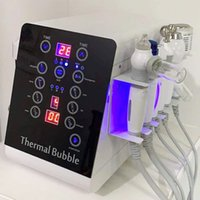 6 in 1 H2O2 산소 제트 물 hydro dermabrasion 피부 필링 Hydra 얼굴 기계 아름다움 악기