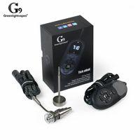 Chaud Smartest Portable G9 Tick Kit Kit Électrique DAB DAB Nail Stylo-Cire Boîte de cire avec 6mm Titanium Domeless Header Heatter