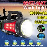 200/300 / 500W Spotlight Portable USB USB rechargeable rechargeable de projecteur Lanterlight Lanter Lanterre imperméable