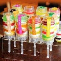 Push push Up Pop contenitori di plastica commestibile Up Pop Cake Contenitore Coperchio Torta Contenitore Per Decorazione per feste figura rotonda di strumento