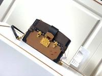 M43596 Heißer Verkaufs-hochwertige Mode STAMM Clutch-Taschen Geldbörsen Klassische Metall-Haspe Mono-Beutel-Frauen-Leder-Schulter-Kurier-Beutel 43596