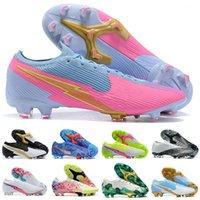 새로운 의욕 VII 13 엘리트 FG CR7 꿈 속도 XIII SAFARI 호날두 네이 마르 NJR 핑크 (360) 축구화 남성 축구 신발 크기 39-45