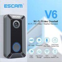 CAMERAS CAMERAS ST SONT SOABLE-SURPROCHE V6 WiFi Mini Caméra IP HD P2P SURVEILLANCE INTÉRIEURE VISION VISION CCTV avec CHIME1