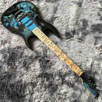 2020 Yüksek Kalite Ibans Elektro Gitar El Boyalı Gitar Vücut Ücretsiz Kargo