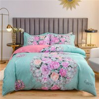 2020 new hot selling home textile 3-piece set, young people's favorite home textile 3-piece set, bed sheet, quilt cover, pillow cover, 4 pie