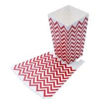 Mini Polka Dot Popcorn Cajas Boda Fiesta de cumpleaños Baby Shower Favors Favores Cajas de galletas Snack Candy Candy Regalo de Navidad B Jllfzr