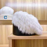 Conejo de alta calidad Pelo de mano HERRATAS Otoño Otoño Fashionlegant Hats Británica Estilo Girls Eretes Artista Pintor Casquillo Sombrero