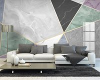 Parede Papers Home Decor Geometric Marbling simples moderno Impressão Digital HD decorativa bonito Wallpaper