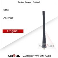 Walkie Talkie 1pc o 10 unids Original Baofeng Antenna SMA-Female 11cm UHF para BF-888S BF-777S BF-666S Radio BF888S H777 Talkie1