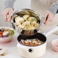 Fogões de arroz 220v multifuncional fogão elétrico aquecimento panela cozinhar macarrão máquina de macarrão ovos omg ovos mini fogão1