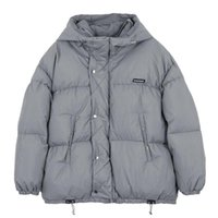 Men's Down Parkas hip hop hop hop hop hop vestes hommes streetwear couleur solide couleur veste rembourrée épaisse coton harajuku hiver pull-flover
