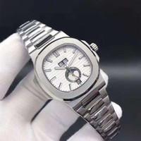 Relojes para hombres Relojes mecánicos para hombres de alta gama, series de deportes, relojes automáticos de marca para hombres, sol, luna y estrellas de 40 mm