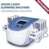 2021 laser lipo machine for home use lipolaser fat burning reduction beauty equipment 650nm & 980nm dual wavelength
