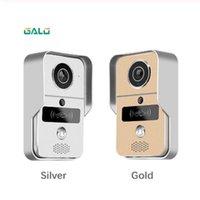 Smart IP Videoüberwachung WIFI Video-Türsprechanlage Türklingel WIFI Klingel-Kamera mit Metallmaterial Alarm Funk-Überwachungskamera
