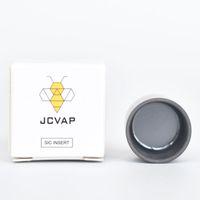JCVAP POLICED SIC INSERT Silicone in silicone ciotola ceramica V3 accessorio per fumo per PUFFFOK NO Chazz Atomizer Sostituzione cera vaporizzatore cera