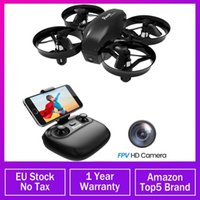 Potenssische Mini-Drohne mit Kamera WiFi FPV-Höhenhälften Headless-Modus 2.4G 6AXIS RC DRON Quadcopter Spielzeug für Kinder 2 Batterien1