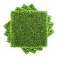 Simulazione Prato Moss Turf Turf False Moss Decorazione Outdoor Paesaggio da interno Balcone Verde Tappeto Tappetino Micro Micro Paesaggio 9079