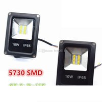 Mini 10W 5730 SMD LED Flood Light Vattentät IP65 AC 85-265V Floodlight Landscape Lighting White White Cold White High Luminous Efficiency