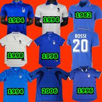1994 1996 1982 إيطاليا الرجعية لكرة القدم الفانيلة Cabrini Conte Rossi Tardelli Gentile Totti R.Bagio Pirlo Maldini 1998 2000 2006 إيطاليا جيرسي