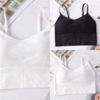 6EUJU Frauen drucken Halftanks Sommer Mode Wege Up Candy Farbe Süße Mode Dres Wickelte Brust Sleeveless Stickerei Spitze Dame