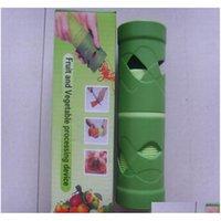 Cortador de vegetais Fruta Slicer Spiralizer Fácil Guarnição Vegetaria Twister Dispositivo de Processamento Cozida GA Jllvcw Lajiayard